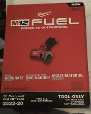 "Milwaukee 2522-20 M12 FUEL 12v 3"" Compact Cut Off Tool Grinder (Tool Only)"