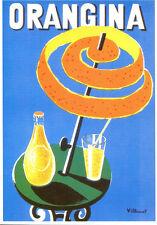 CPP085 CARTE POSTALE publicité ORANGINA par Villemot
