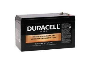 Authentic Duracell DURA12-9F2 12V 9AH AGM Battery F2 Terminal