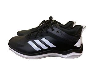 Men's Size 13 Adidas Cross Training Athletic Shoes SPG 753001 black White