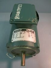 Reliance Electric, Small DC Motor 1/4 HP, 90V, 1750RPM, FR: SE0056C T56S1000A