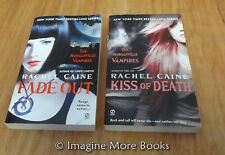 Fade Out & Kiss of Death by Rachel Caine ~ Morganville Vampires: Book 7-8 ~ PBs