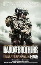 """Band of Brothers"" 2001 Movie Poster Print A0-A1-A2-A3-A4-A5-A6-MAXI 997"