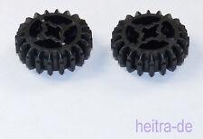 LEGO Technik - 2 x Zahnrad  - 20 Zähne schwarz / Gear 20 Tooth / 32269 NEUWARE