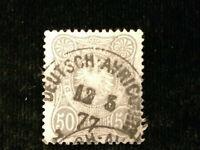 Deutsches Reich 12.05.1877 - MiNr. 36  Stempel  Deutsch-Avricourt,Lothringen