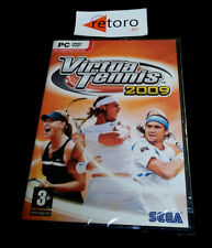 VIRTUA TENNIS 2009 SEGA PC DVD ROM Pal-España Español NUEVO Precintado New