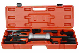 13pc Dent Puller Body Repair Garage Auto Tools Trucks 10lbs Slide Hammer Set