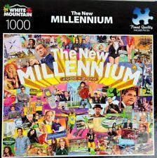 "White Mountain Puzzles ""The New Millennium"" 1000 Piece Jigsaw Puzzle🧩🧩"