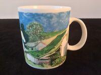 STARBUCKS CHALEUR VINCENT VAN GOGH'S HOME COFFEE TEA MUG CUP 14OZ BURROWS PASTEL