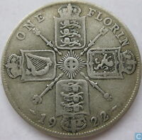 1920 - 1948 GEORGE V SILVER FLORIN COIN CHOOSE THE YEAR / DATE