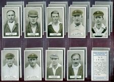 Tobacco Card Set, Cohen Weenan, CRICKETERS, Cricket, 1926