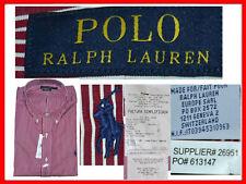 RALPH LAUREN Camicie Uomo M o XXL Spagna e Italia / S o XL US RL01 N1P