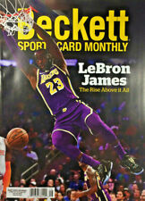 New August 2020 Beckett Sports Card Monthly Price Guide Magazine W/ Lebron James