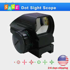Red Green Laser Dot Scope Tactical Holographic Reflex Sight 20mm Picatinny Rail
