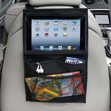 Back Seat Car Organiser with Tablet holder Travel iPad Galaxy Storage Bag Pocket