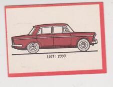 Monty Gum trading card 1972 Oldtimers 1961 - FIAT 2300