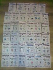 Final Football International Fixture Programmes
