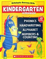 Scholastic - Kindergarten Workbook with Motivational Stickers