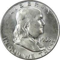 1963 D Franklin Half Dollar AG About Good 90% Silver 50c US Coin Collectible