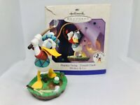 Hallmark Keepsake Ornament Practice Swing Donald Duck Disney Mickey 1998 NIB