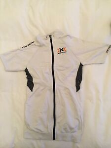 X-Bionic Women's Cycling Jersey White Size M