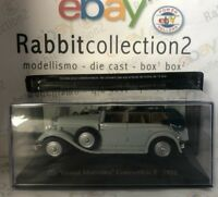 """DIE CAST """" 770 GRAND MERCEDES CONVERTIBLE 1932 """" MERCEDES COLLECTION 1/43 (07)"""