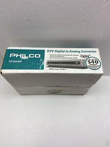 Philco Digital to Analog TV Converter TB100HH9 New Open Box!