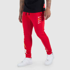 Nike Men's Tracksuit Bottoms Joggers Sweat Pants Red
