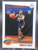 Zion Williamson 2019/20 NBA Hoops Tribute Rookie--Pelicans