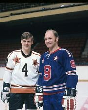 Bobby Orr, Bobby Hull NHL All Stars Game 1971 8x10 Photo