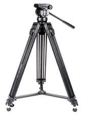 Kingjoy Pro VT2500 155cm Heavy Duty Aluminium Video Tripod with Fluid Video Head