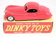 Dinky Toys 157 Jaguar Car XK120 Coupe Spun hubs mint in box all original