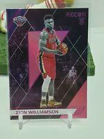 2019-20 Panini Chronicles Recon Pink Foil SP RC Pelican Zion Williamson 💎💎🔥🔥