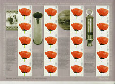 GB 2008 Smilers Sheet LS55 We Will Remember Them MNH