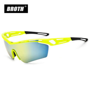 Outdoor Cycling Sunglasses Colorful Goggles Half Frame Climbing Fishing Glasses