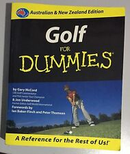Gold for Dummies by Gary McCord (2000) Wiley Publishing Learn Book Textbook