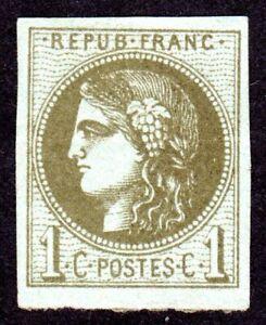 France - 1870 - Scott 38 - MNG F/VF