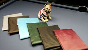 Pool Snooker Table Cover 6ft lightweight water resistant protection colours