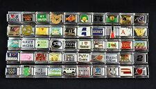 Italian Charms 50 assorted Stainless Steel Wholesale Lot 9mm Random Selection