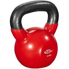 Kettlebell formazione Bollitore Bell peso con maniglia ginnastica Fitness 14kg