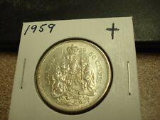 1959 - Canada half dollar - Silver - Canadian 50 cent
