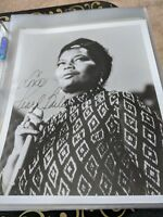 Pearl Bailey Hollywood Actress Singer Autographed 8x10 Photo