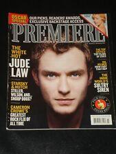 PREMIERE magazine 2004, Jude Law, Cameron Crowe, Charlize Theron, Val Kilmer