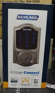 SCHLAGE CONNECT SMART DEADBOLT BE469ZP V Cam 619 Camelot BRAND NEW
