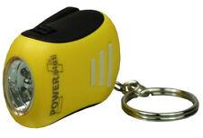 PowerPlus Bee Twin 2 LED dynamo keychain flashlight Smart Small Dynamo & Slim