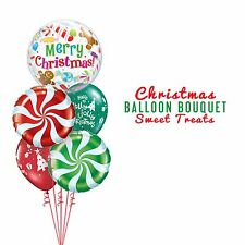 Party Supplies Christmas Sweet Treats Foil Balloons Bouquet