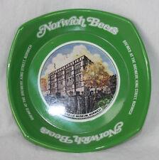 Norwich Beers Ashtray Retro MCM Ornamin Great Britain Green Castle Museum Unused