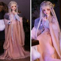 1/3 BJD Puppe 60 cm Mädchen Spielzeug mit veränderbaren Augen Perücken Kleid Toy