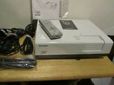 SHARP XR-55X  2700 MULTI MEDIA PROJECTOR WITH REMOTE PLUS CD. NEW CONDITION