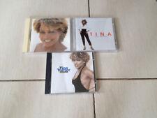 LOT 3 CD TINA TURNER - WILDEST DREAMS + TWENTY FOUR SEVEN + SIMPLY THE BEST